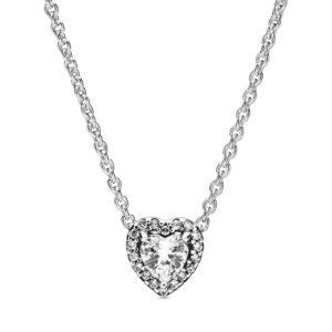 Erhabenes Herz Halskette